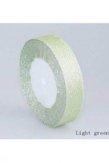 Glitter Ribbon - Light Green