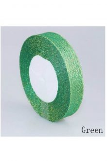 Glitter Ribbon - Green