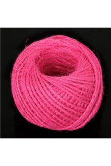 Jute/Burlap Cord - rose Red