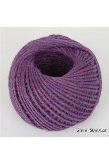Jute/Burlap Cord - Dark purple