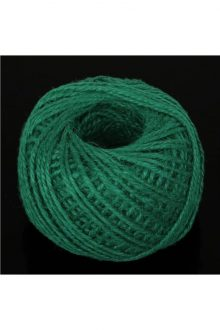 Jute/Burlap Cord - dark green
