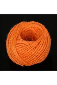 Jute/Burlap Cord - Orange