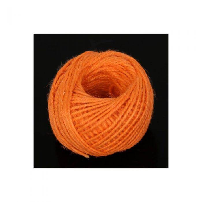 Jute/Burlap Cord – Orange 1