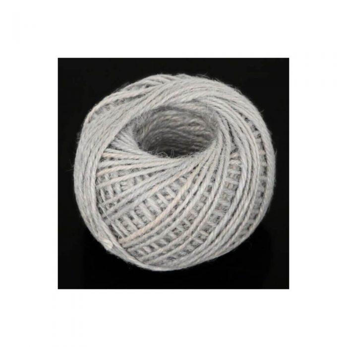 Jute/Burlap Cord – Light gray 1