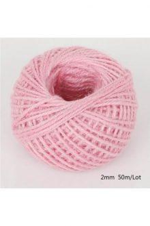 Jute/Burlap Cord - Pink