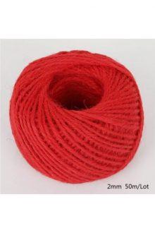 Jute/Burlap Cord - Big red