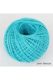 Jute/Burlap Cord - Hole blue