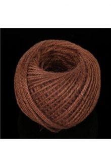 Jute/Burlap Cord - dark brown