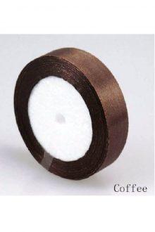 Satin Ribbon - Coffee