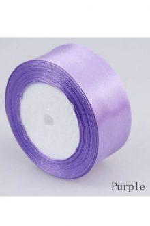 Satin Ribbon - Purple